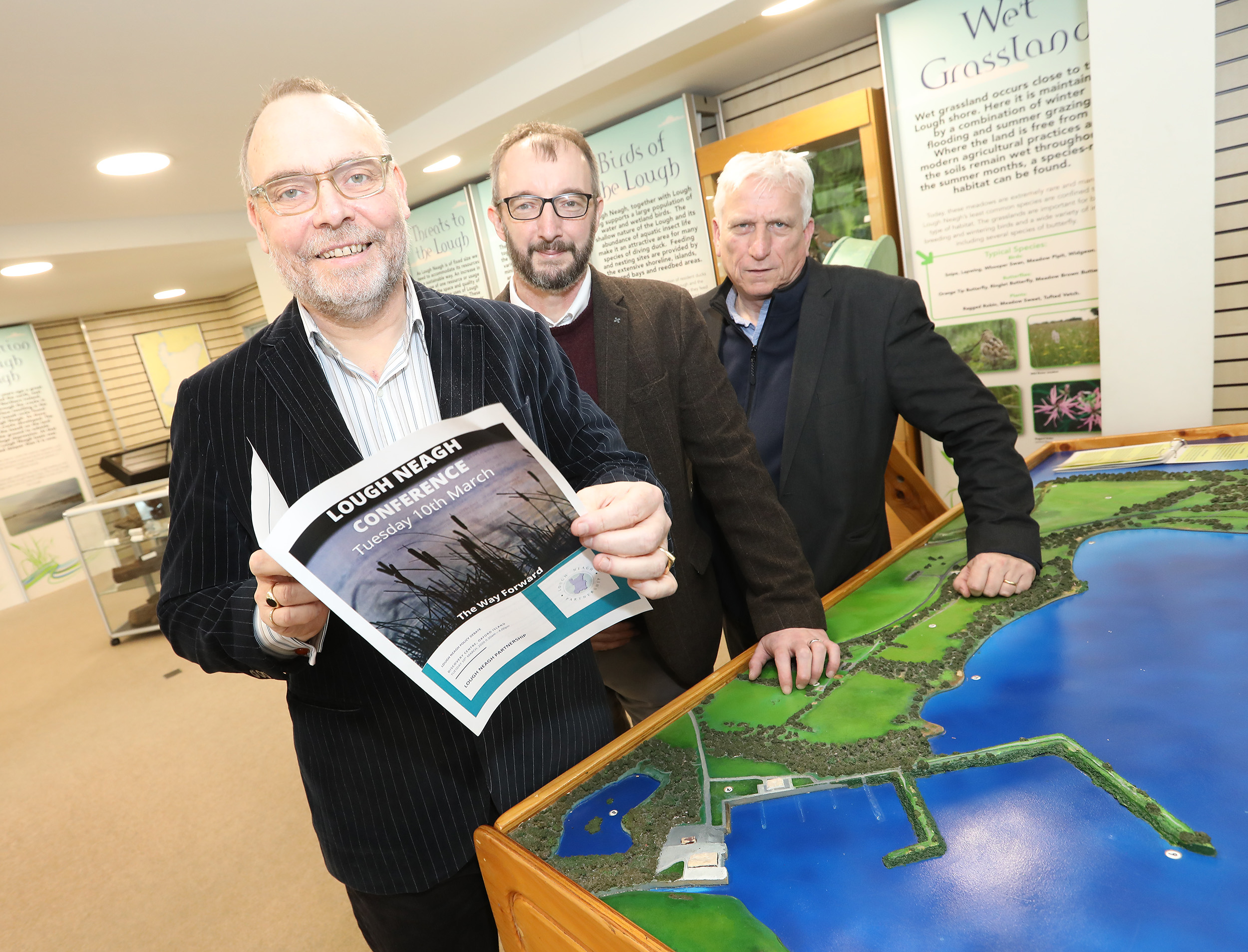 ALL PARTY DEBATE ON WAY FORWARD FOR LOUGH NEAGH